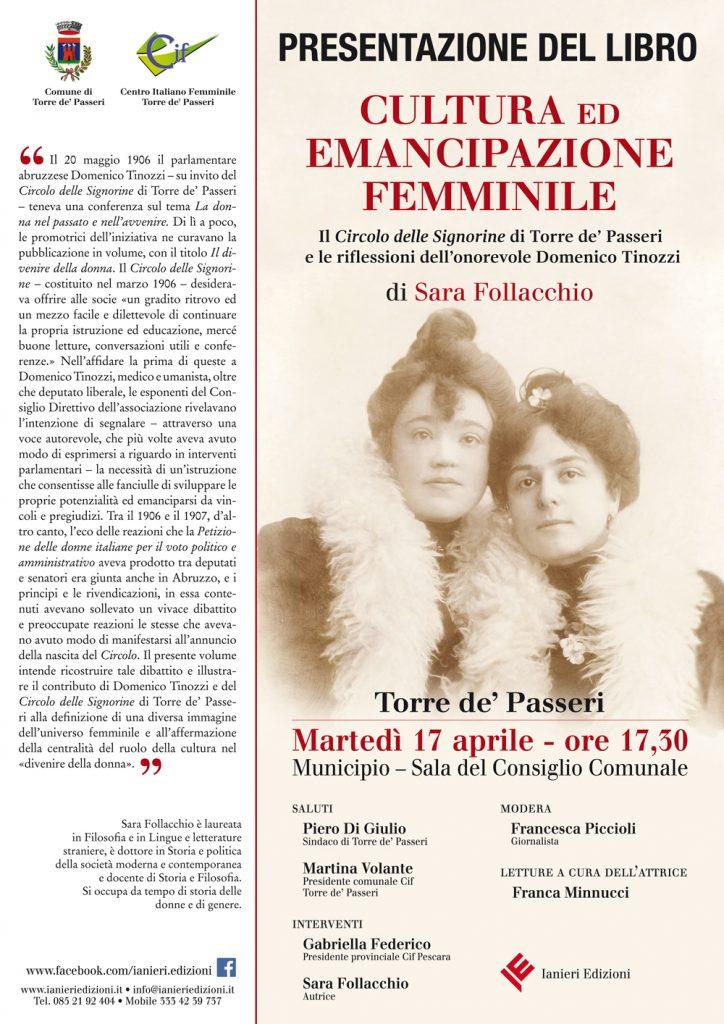 Cultura ed emancipazione femminile